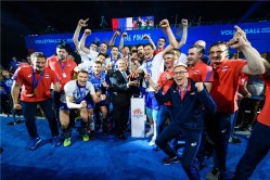 VNL 2019 Men Russie-USA 2