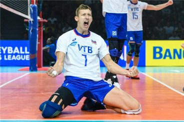 VNL 2019 Men Russie-USA 3