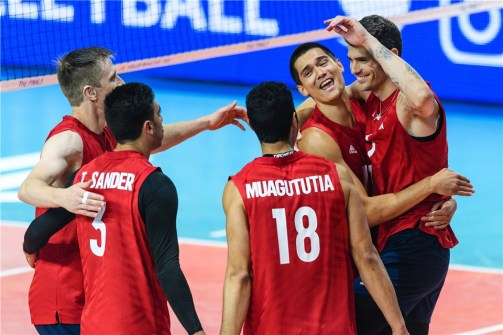 VNL 2019 Men Russie-USA 4