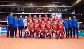 VNL 2019 Men Russie-USA 6