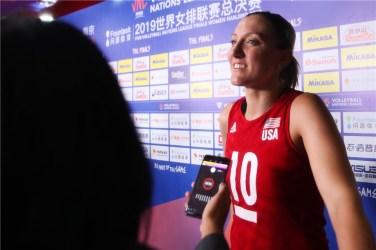 Volley Femmes Jordan Larson