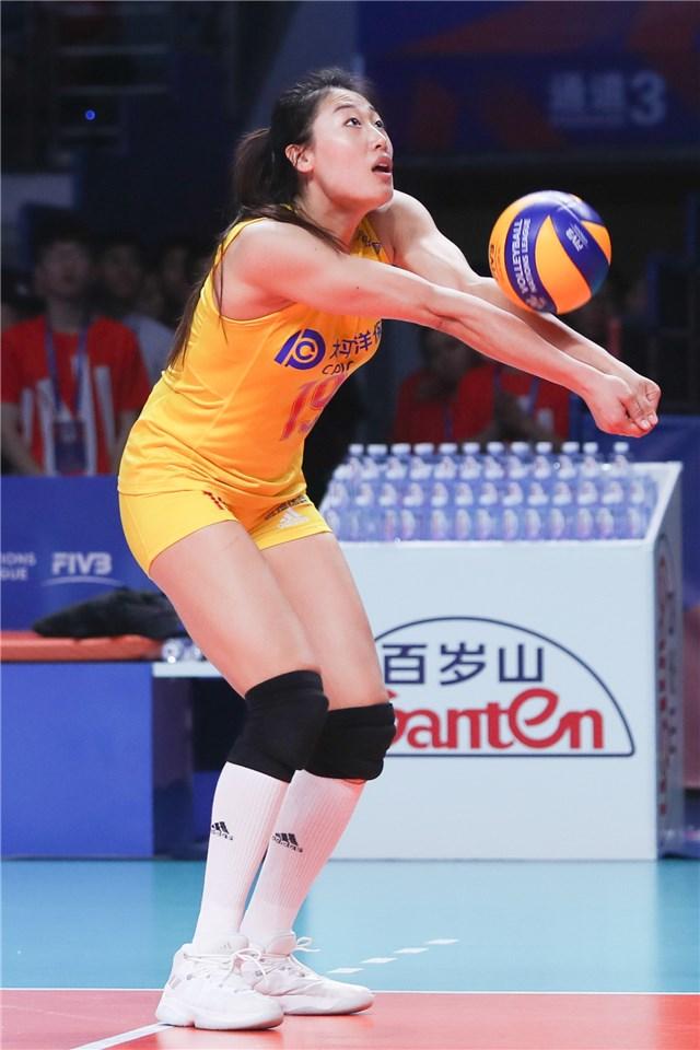Volley Femmes Yanhan Liu