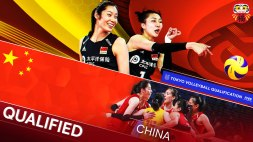 China qualified for Tokyo 3
