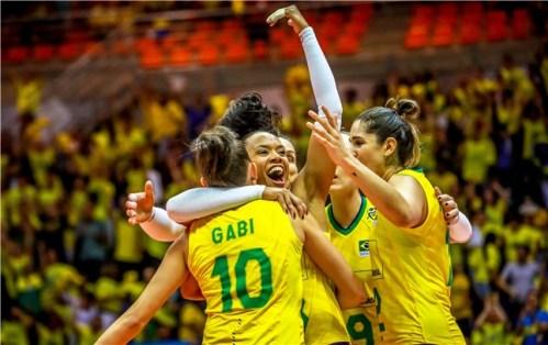 Gabi et le Brésil à Tokyo