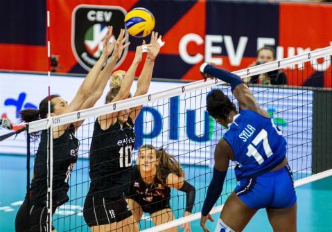 Italie - Belgique Lodz 19 7
