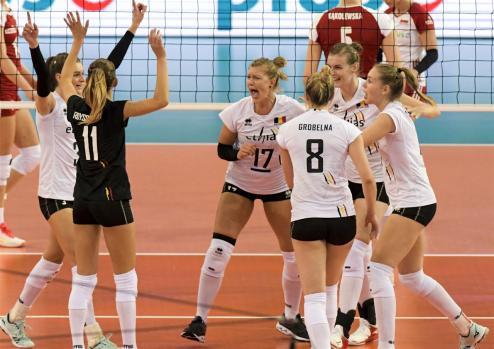 Pologne - Belgique Lodz 19 9