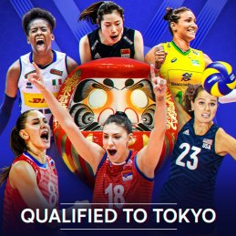 Qualified for Tokyo 2020