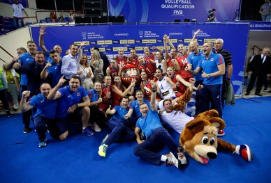 Russia qualified for Tokyo 1
