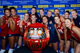 USA qualified for Tokyo 3