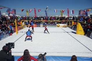 Snow volley CEV - FIVB